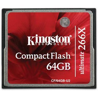 64 GB Kingston Ultimate Compact Flash TypI 266x Retail