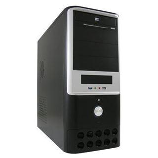 LC-Power 7005B Midi Tower 350 Watt schwarz/grau