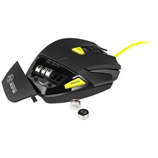 Sharkoon Shark Zone M20 USB schwarz/gelb (kabelgebunden)