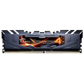 16GB G.Skill RipJaws 4 schwarz DDR4-3300 DIMM CL16 Quad Kit
