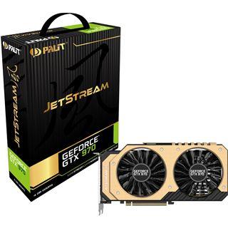 4GB Palit GeForce GTX 970 JetStream Aktiv PCIe 3.0 x16 (Retail)