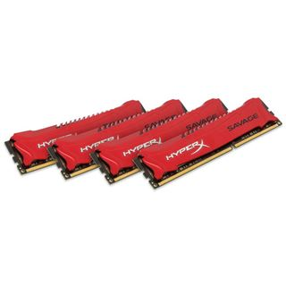 32GB HyperX Savage rot DDR3-2133 DIMM CL11 Quad Kit