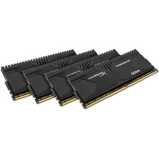 16GB HyperX Predator DDR4-3000 DIMM CL15 Quad Kit