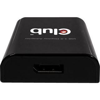 Club 3D CSV-2301 Adapter für USB 3.0 auf DisplayPort 1.1 (CSV-2301)