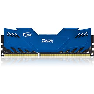 8GB TeamGroup Dark Series blau DDR3-1600 DIMM CL9 Dual Kit
