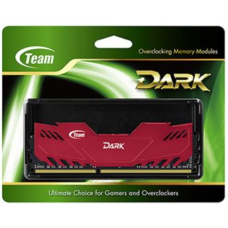 8GB TeamGroup Dark Series rot DDR3-1600 DIMM CL9 Single