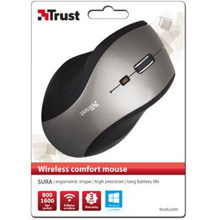 Trust Sura USB schwarz/grau (kabellos)