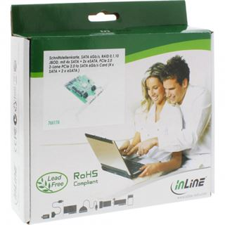InLine 76617A 6 Port PCIe 2.0 x4 retail