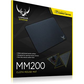 Corsair Gaming MM200 Compact Edition 265 mm x 210 mm schwarz
