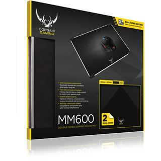 Corsair Gaming MM600 Double Sided 352 mm x 272 mm schwarz