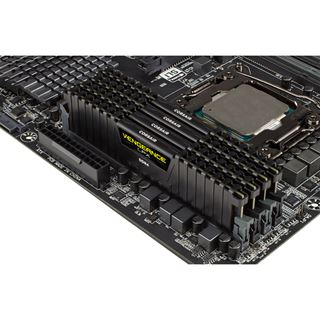 32GB Corsair Vengeance LPX schwarz DDR4-2666 DIMM CL15 Quad Kit