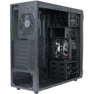 Cooltek GT-02 Midi Tower ohne Netzteil schwarz