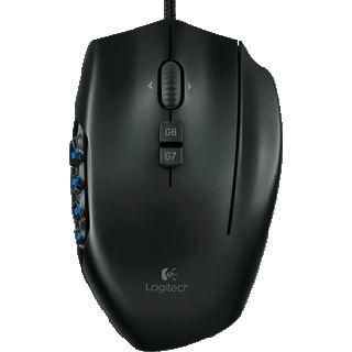 Logitech G600 MMO USB schwarz (kabelgebunden)