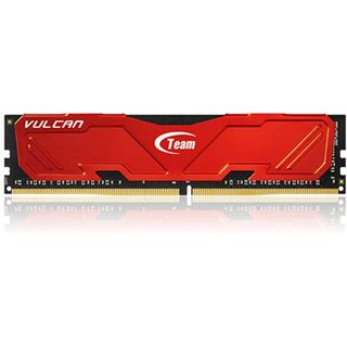 32GB TeamGroup Vulcan Series rot DDR4-2800 DIMM CL16 Quad Kit