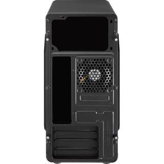AeroCool QS-182 Mini Tower ohne Netzteil schwarz