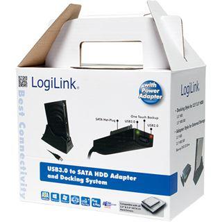 """LogiLink Dockingstation für 1x 3.5"""" oder 2x 2.5"""" Festplatten (AU0008B)"""