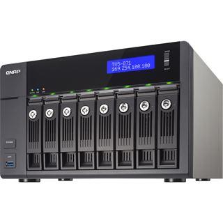 QNAP Turbo Station TVS-871-i5-8G ohne Festplatten