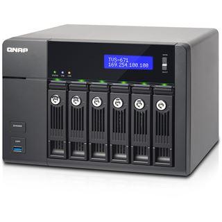 QNAP Turbo Station TVS-671-PT-4G ohne Festplatten