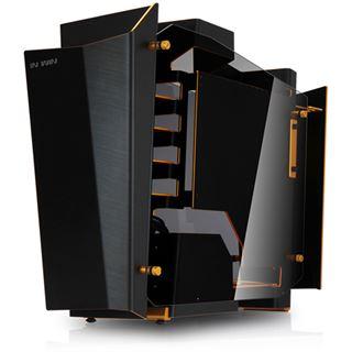 IN WIN S-Frame mit Sichtfenster Midi Tower ohne Netzteil schwarz/gold