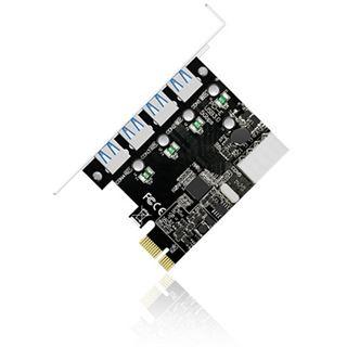 ICY BOX IB-AC614a 4 Port PCIe 2.0 x1 retail