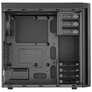 Corsair Carbide 330R Blackout Edition gedämmt Midi Tower ohne