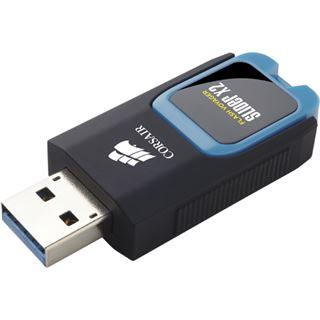 128 GB Corsair Voyager Slider X2 schwarz/blau USB 3.0