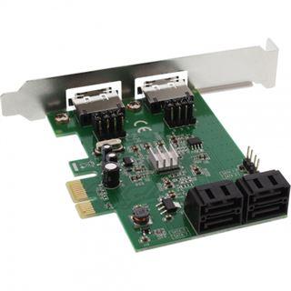 InLine 76617C 6 Port PCIe 2.0 x1 Low Profile retail