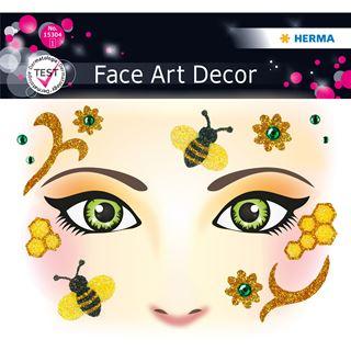 Herma Face Art Sticker Honey Bee