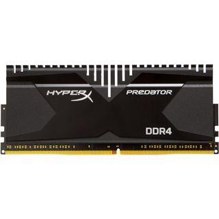 32GB HyperX Predator DDR4-2800 DIMM CL14 Quad Kit