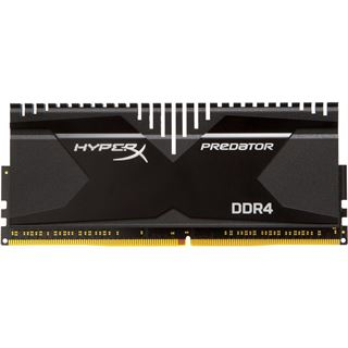 32GB HyperX Predator DDR4-3000 DIMM CL15 Quad Kit