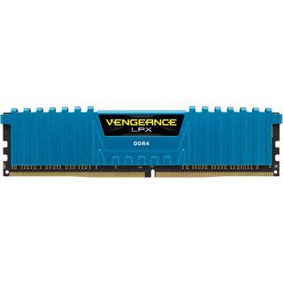 16GB Corsair Vengeance LPX blau DDR4-2400 DIMM CL14 Quad Kit