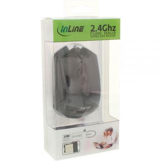InLine 55361 USB schwarz (kabellos)