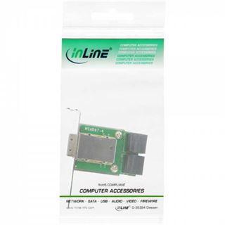 InLine Slotblech für 4x SATA (27653I)