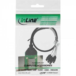 InLine Slotblech für SAS (SFF-8088) (27654B)