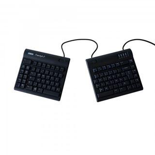 R-GO Tools Kinesis Freestyle 2 USB Franzoesisch schwarz (kabelgebunden)