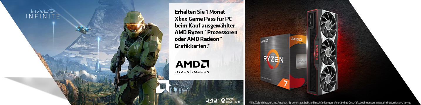 AMD Xbox Game Pass Equipped for Battle