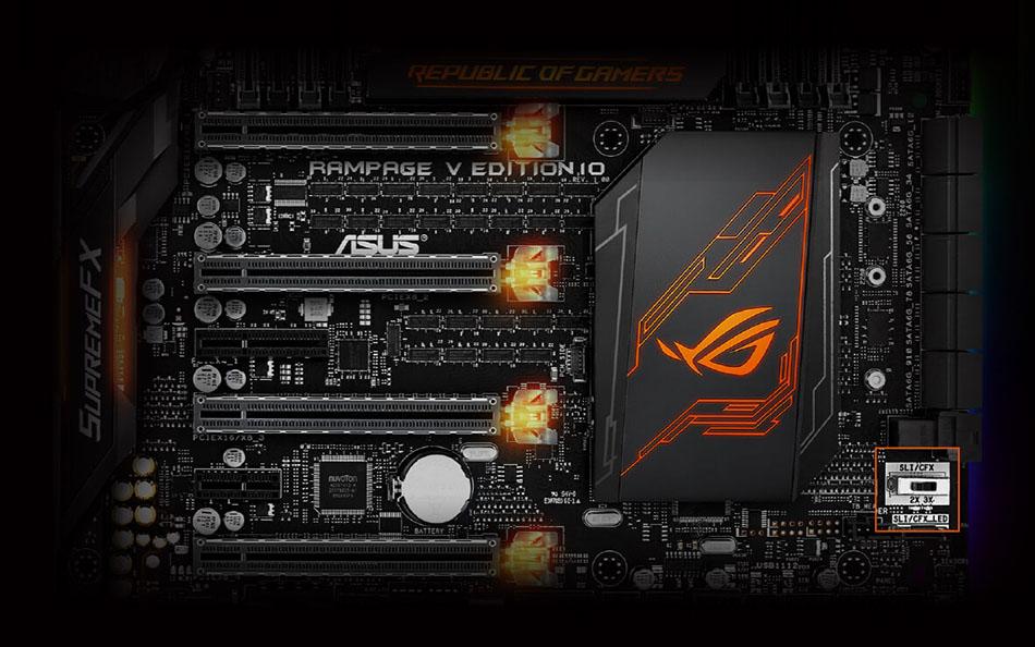 Asus Rampage V Edition 10 Intel X99 So.2011-3 Quad Channel DDR4 EATX ...