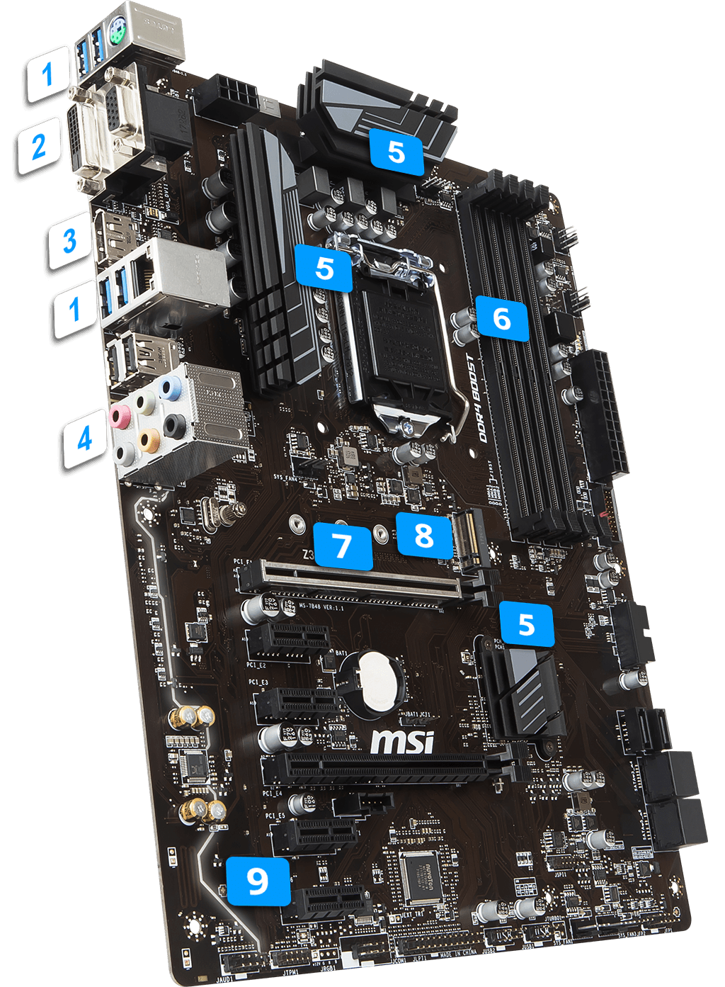 MSI Z370 A PRO overview