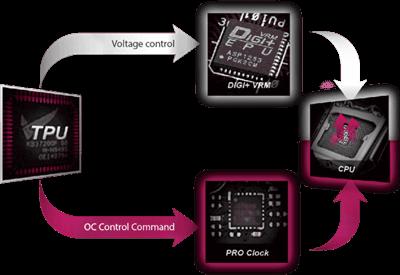 OC-DESIGN: ASUS PRO CLOCK-TECHNOLOGIE