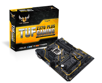 ASUS TUF Z370-PLUS Gaming Mainboard
