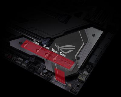Zwei M.2 mit PCIe GEN3