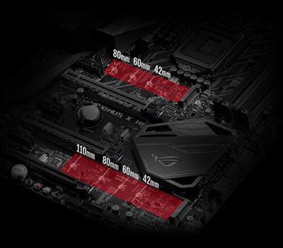 DUAL PCIE GEN3 M.2