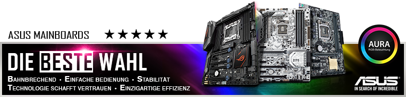 ASUS ROG MAXIMUS X HERO Gaming Mainboard