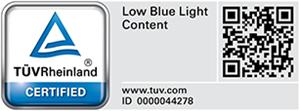 Ultra-Low Blue Light-Bildschirm