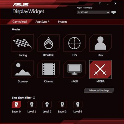 EXKLUSIVES ASUS DISPLAYWIDGET