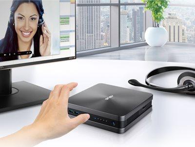Integrierte Skype-Tasten für sofortige Konferenzanrufe