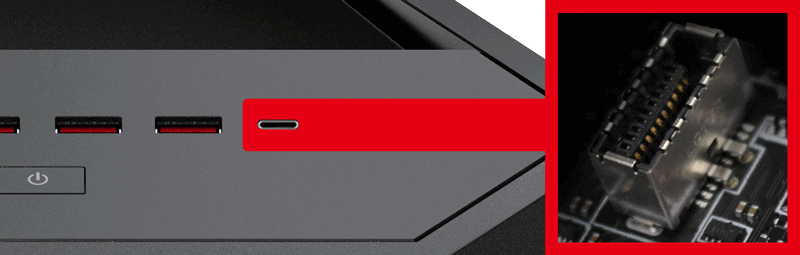 Front USB 3.1 Gen2 Typ-C