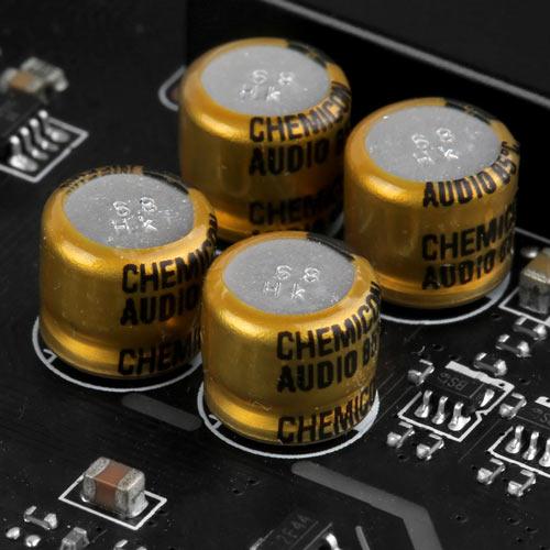Hochwertige Audiokondensatoren
