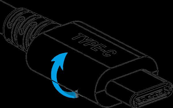 Beidseitig verwendbarer Anschluss USB Typ-C