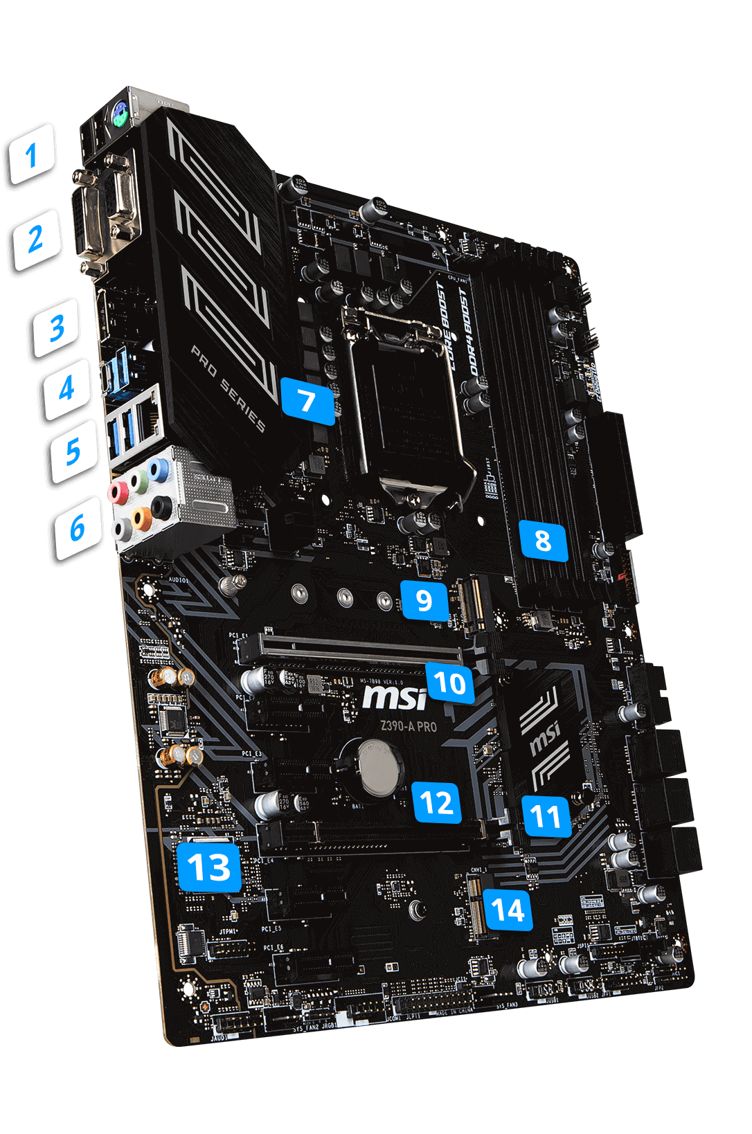 MSI Z390-A PRO overview